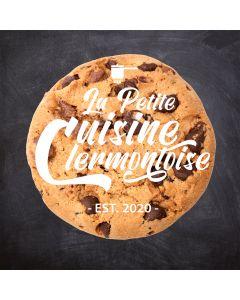 Boîte de cookies aux pépites de chocolat